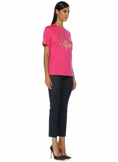 Versace Tişört Fuşya